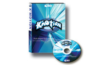 501D - <!--Y-->K'Motion High Impact Worship DVD